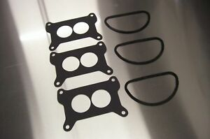 Fits Holley 2300 Air Cleaner Rubber Throat Base Gasket Ford Chevy Mopar Six Pack