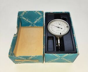 Compac Geneve Precision Dial Indicator Type 523 0 001mm New Old Stock