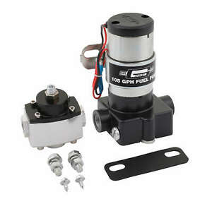 Mr Gasket Electric Fuel Pump Assembly 105gph W Mounting Bracket Universal Fit