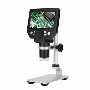 Digital Microscope Soldering 4 3 Large Base Lcd Display Amplification Magnifier