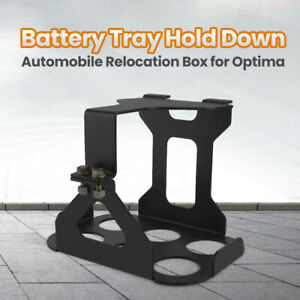 Battery Hold Down Tray Box Mount For 34 78 red Yellow Top Battery