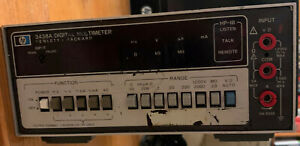 Hp 3438a Benchtop Meter Good Condition Tested