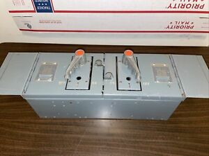Federal Pacific Qmqb 6632 Unit Panel Board Switch Breakers 3 Pole