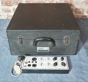 Hickok 533a Dynamic Mutual Conductance Tube Tester With Extras