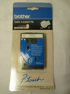 Brother Cassette Tape P touch Tc 14z1 Clear 1 Cartridge