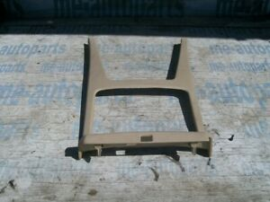 05 11 Cadillac Sts Oem Floor Shifter Cover Mount Center Console Bezel Trim Grey