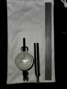 Interapid 0005 Dial Test Indicator Edge Finder Scale Free Gift Used