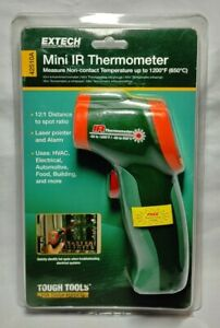 Extech 42510a Wide Temperature Range Mini Ir Thermometer 58 To 1200f s10