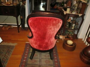 Victorian Original Chair W Wheels Early 190 S With Wheels Good Condition Price