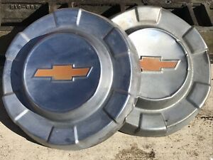 Vintage Chevy Chevrolet Apache Cameo Pickup Truck Hubcap Wheel Covers