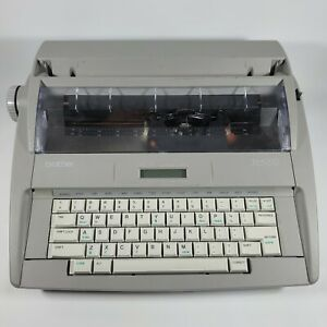 Brother Sx 4000 Portable Electric Lcd Digital Display Typewriter Tested Usa Made