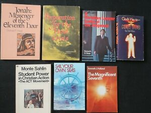 Lot of 7 Pacific Press Books vintage Seventh Day Adventist publications $24.99