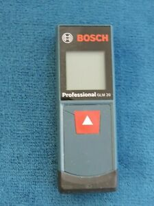 Bosch Glm20 65in Laser Distance Measurer New Condition Works Well