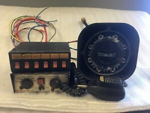 Fire ems Emergency Siren And Light Control