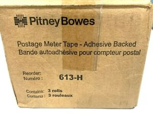 Pitney Bowes Postage Meter Tape 613 h 3 Rolls