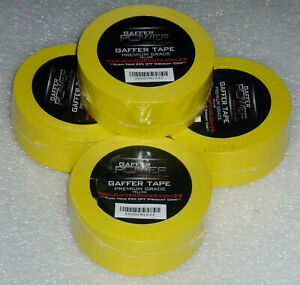 Super Sale Top Quality Gaffer Tape Flourescent Yellow 2 x30yd New Super Price