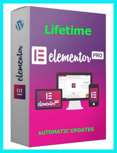Elementor Pro 3 4 1 Wordpress Latest Version Page Builder 100 Activated