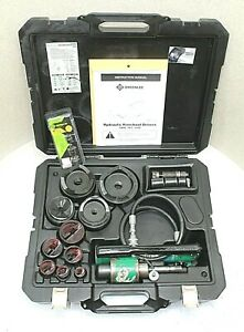 Greenlee 7310sb Hydraulic Knockout Punch Set W Plastic Case 100 Tested