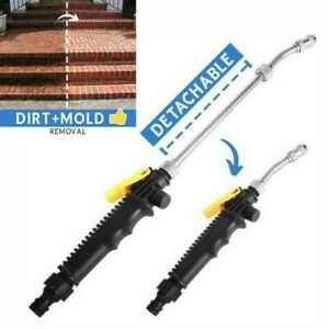 2 In 1 High Pressure Power Car Water Washer Wand Detachable Nozzle Spray 48cm