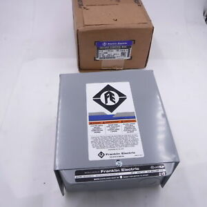 Franklin Electric 3 Hp 230v 1 Ph Submersible Water Pump Control Box 2823021310