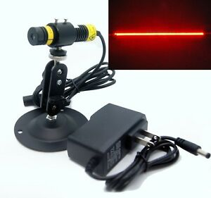 660nm 50mw Focusable Red Laser Line Module for Stone wood Cut Locating 12v
