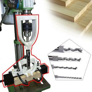 Woodworking Bench Mortiser Chisel Drilling Machine Location Tool Tenon