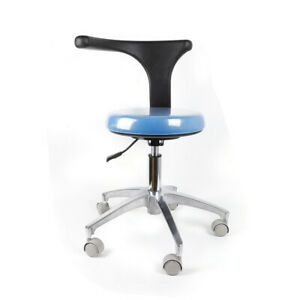 Professional Pu Leather Medical Dental Chair Stool Mobile Chair 360 Adjustable