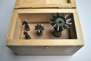 Hss Dovetail Milling Cutters 60 Set Of 4