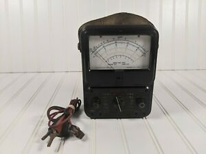 Early Vintage Simpson Model 260 Multimeter Usa Untested W Leads Free Shipping