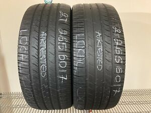 No Shipping Only Local Pick Up 2 Tires 265 60 17 Goodyear Eagle Rs A Fits 26560r17