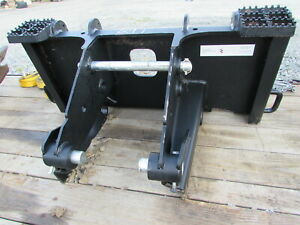 New Paladin Hydraulic Hammer Attachment Mounting Plate For Skid Steer Loader
