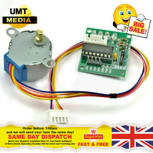 5v Step Stepper Motor 28byj 48 Uln2003a Driver Test Module Boards For Arduino