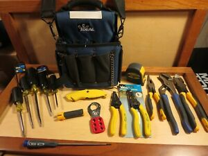 Ideal Industries Journeyman Electrician s Tote And Tools 16 Piece Tool Set