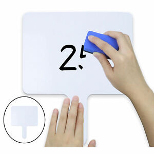Dry Erase Answer Board Writing White Board Teaching Props For Students Kids