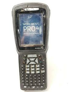 Psion Teklogix Workabout Pro4 Model 7528x Barcode Scanner Read qty_