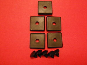 80 20 8020 Equivalent 2030 15 Series Black End Cap W push in 5 Pcs Blank