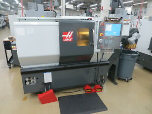 Haas St 10 Cnc Turning Center W Tailstock And Chip Conveyor