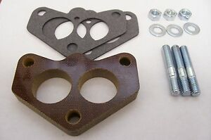 Fits Stromberg 97 Ford Holley 94 Ford Spacer Phenolic Carb Insulator Riser 1 2