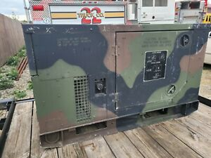 Fermont 2009 Mep 803a 10kw Military Generator 1 And 3 Phase 60hz