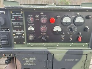 Fermont 2011 Mep 802a 5kw Diesel Military Generator 1 And 3 Phase 60hz 36hrs