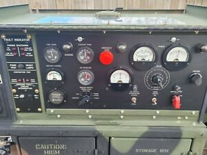 Fermont 2010 Mep 802a 5kw Diesel Military Generator 1 And 3 Phase 60hz 17hrs
