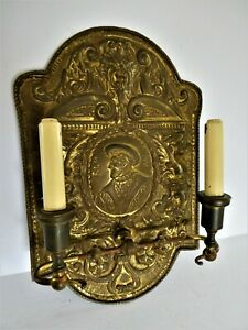 Fit For A King Henry The 8th To Be Exact Very Large Sconce E F Caldwell