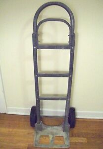 Magliner Aluminum Hand Truck Good Condition Works Warehouse Made In Michigan