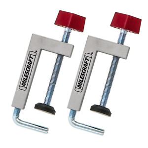Fence Clamps Universal Clamping Tool New Router Tables C clamps 2 Pack Miter