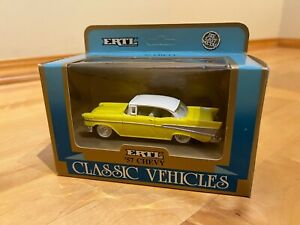 New Listingertl Classic Vehicles 143 Scale 1957 Chevrolet Bel Air New In Box 2540