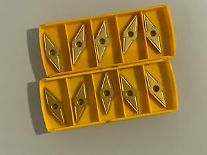 10 new Kennametal Vnmg432 Kc850 Carbide Inserts