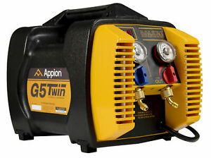 Appion G5twin Refrigerant Recovery Machine With Automatic Liquid And Vapor Rec