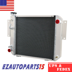3row Aluminum Radiator For Hyster Yale Forklift H25xm H35xm 2021741 Fork Lift