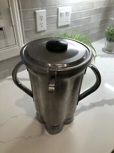 Waring Cac72 1 Gallon Commercial Food Blender Container Stainless