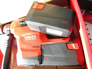 Hilti Te 60 a36 Heavy duty Concrete Drilling Cordless Rotary Hammer Charger 2bat